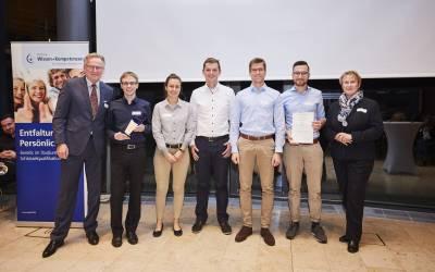 2019 | Den gesellschaftlich orientierten Preis und zusätzlich den Publikumspreis erhielt der Enactus KIT e.V. für das Projekt Evayu